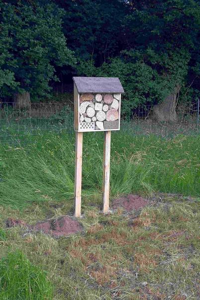 Insektenhotel Totale©Oberschule Steimbke